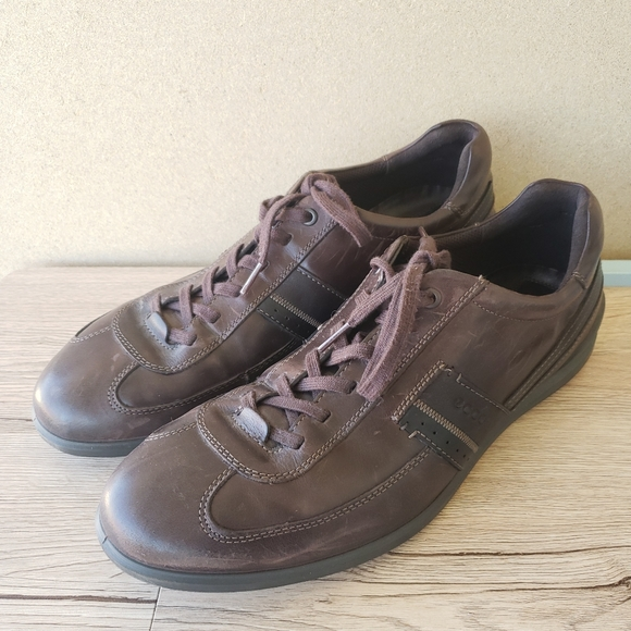 Ecco Leather Loafer Sneakers Size 47 US 13-13.5
